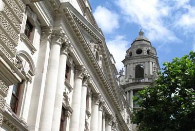 HMRC headquarters in Whitehall
