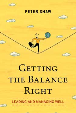 Getting the Balance Right, by Peter Shaw
