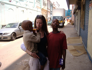 Lucy Caslon, one of last year's winners, spent a year working for Msizi Africa, a charity she co-founded