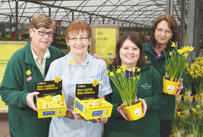 Staff from the Garden Centre Group
