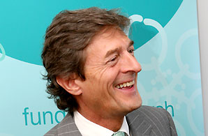 Nigel Havers supports Ovarian Cancer Action