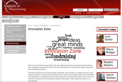 The IoF's Innovation Zone