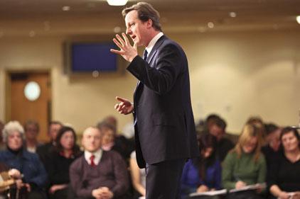 David Cameron: planning cuts