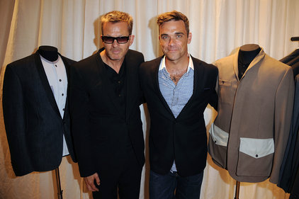 Spencer Hart: founder Nick Hart with Robbie Williams