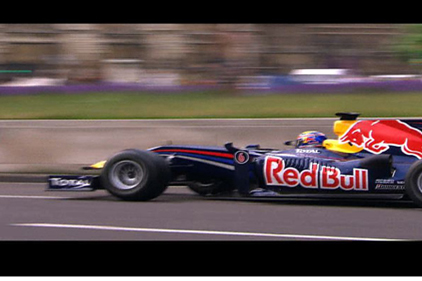 Speed freak: Video coverage has boosted the Red Bull F1 team