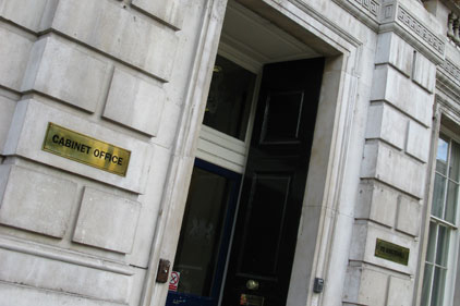 Cabinet Office: review of government comms