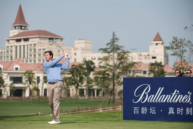 Ballantine's: sponsors BMW Masters in Shanghai