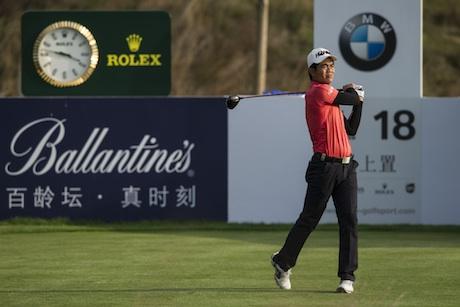 Chinese golfer Liang Wen-Chong at the BMW Masters