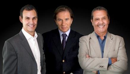 (L to R): Newlink America managing partner & cofounder Jorge Ortega; Newlink Group chairman & CEO Sergio Roitberg; Newlink America managing partner Eduardo del Rivero