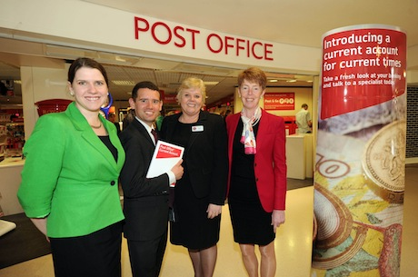 Post Office: introduced current accounts with a campaign earlier this year