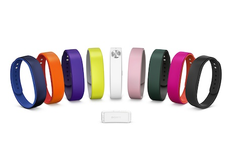 Sony's SmartBand range: Launched earlier this year