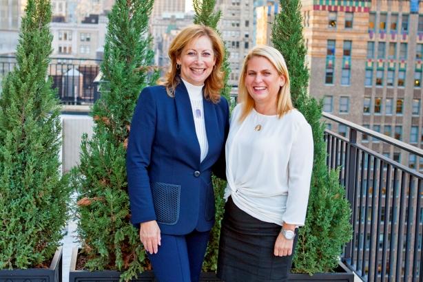 Nancy Friedman and Julie Freeman