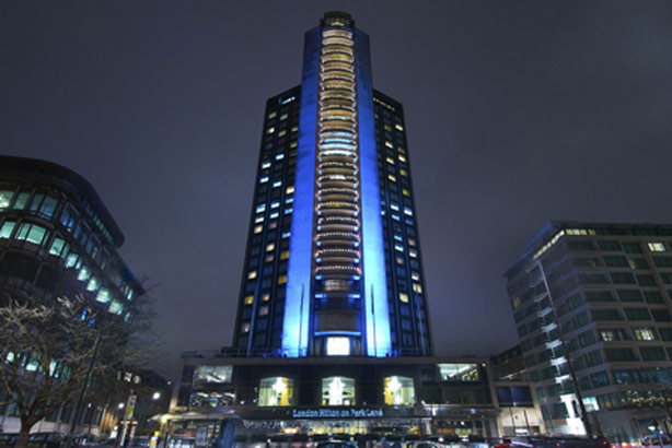 London Hilton Park Lane: owned by the global hotels group