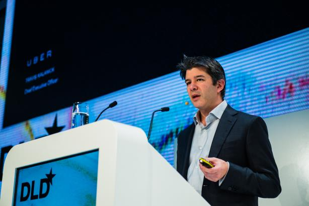 """Travis Kalanick at DLD Munich 2015 - Image by Dan Taylor - dan(at)heisenbergmedia(dot)com"" by Dan Taylor - contact at dan(at)heisenbergmedia(dot)com - Own work. Licensed under CC BY-SA 4.0 via Commons - https://commons.wikimedia.org/wiki/File:Travis"