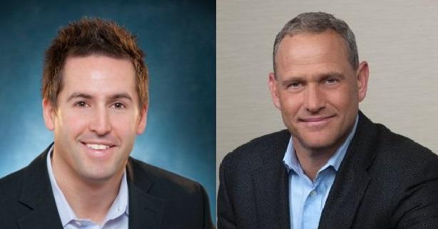 David Tovar (L) and Doug Michelman