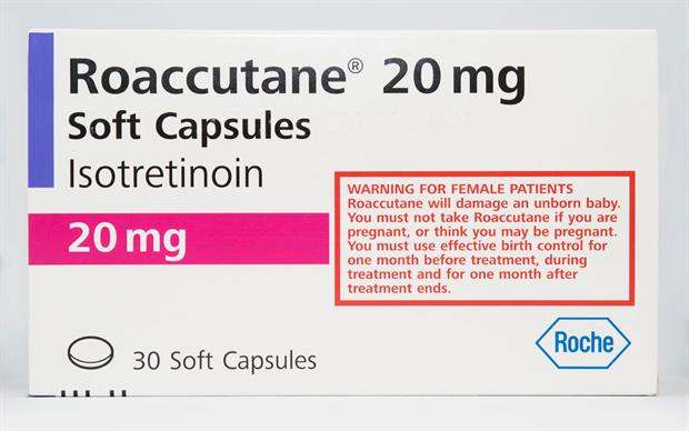 A repeated course of oral isotretinoin should only be considered after at least 8 weeks and if there is a definite relapse. SCIENCE PHOTO LIBRARY