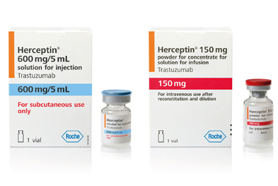 HER2 status must be established before starting treatment with Herceptin