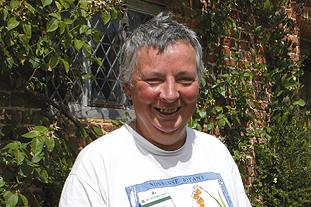 Alexis Datta, head gardener, Sissinghurst Castle Gardens - image: HW