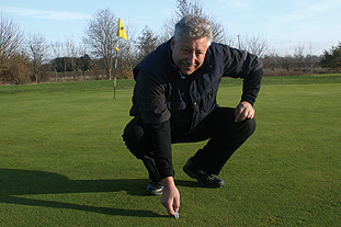 Stevenson: proves that taking an organic approach can work as he boosts surface quality, brings back wildlife and turns around a failing course at New Malton - all without chemicals. Image: HW