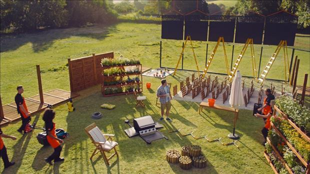 A still from the B&Q ad - image: B&Q