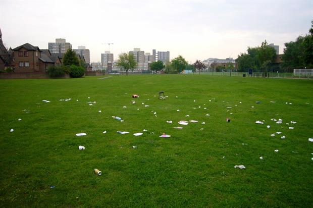 The Government wants to build an anti-litter culture. Image: Gordon Joly/Flickr