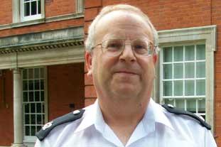 Derek Pollock, Police Commander, Royal Parks Operational Command Unit - photo: HW