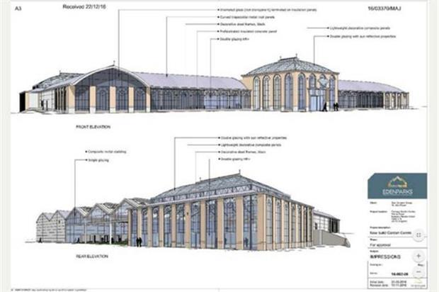 Vision for Fermoys refurbishment - image: Edenparks